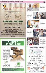 Danziger Centenary Celebrations